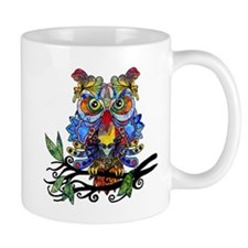 wild owl Mugs