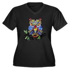 wild owl Plus Size T-Shirt