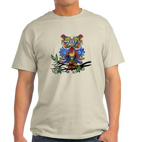 Wild Owl T Shirt By Zodiarts