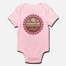 Personalized Granmoms Girl Body Suit