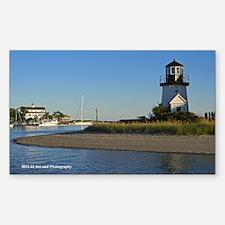 Cape Cod Lighthouse Sticker (Rectangle)