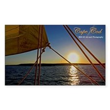 Cape Cod Sunset Decal