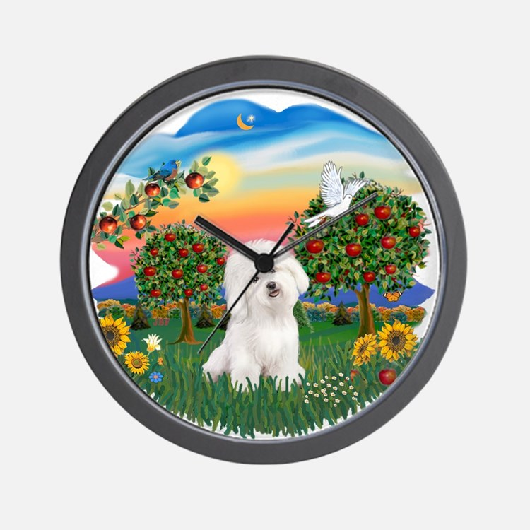 Bright Country - Bicho Frise 3.png Wall Clock