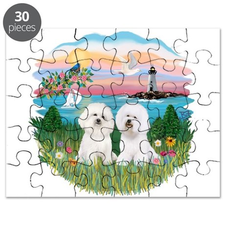 Lighthouse - TWO Bichon.png Puzzle