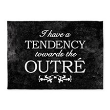 Tendency Towards The Outre 5'x7'Area Rug