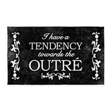 Tendency Towards The Outre 3'x5' Area Rug