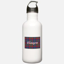 Tartan - Glasgow dist. Water Bottle