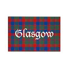 Tartan - Glasgow dist. Rectangle Magnet