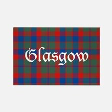 Tartan - Glasgow dist. Rectangle Magnet