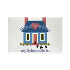 Schnoodle Lover Gifts Rectangle Magnet (100 pack)