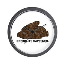 Coprolite Happened -- Wall Clock