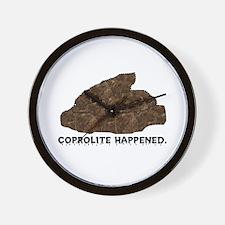 Coprolite Happened -- Wall Clock