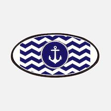 Nautical Anchor Chevron Patches