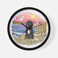 PinkSunset-PWD5bw.png Wall Clock