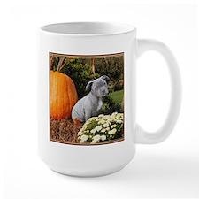 Halloween pitbull puppy Mugs