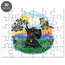 Bright Life - Scottish Terrier 12.png Puzzle