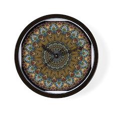Kaleidoscope Fractal 388 Wall Clock