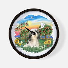 Bright Country - Shih Tzu 3.png Wall Clock