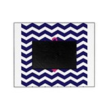 Hot pink anchor Picture Frames