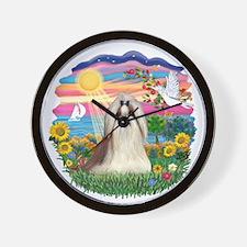 AutumnSun-ShihTzu10.png Wall Clock