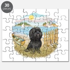 RowBoat-BlackShih Tzu.png Puzzle