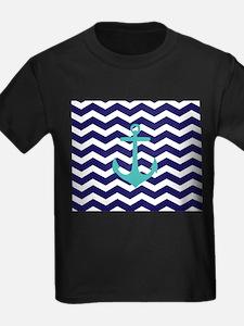 Blue Anchor Chevron T-Shirt