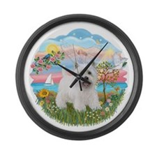 AngelStar-Weste5.png Large Wall Clock