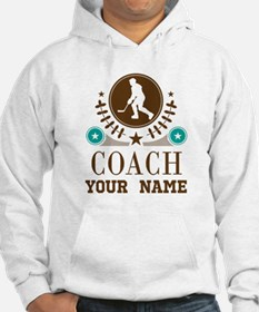 Ice Hockey Coach Personalized Jumper Hoody