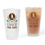 Hockey coach Pint Glasses