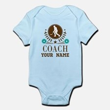 Ice Hockey Coach Personalized Onesie