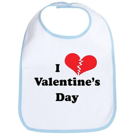 I Hate Valentine's Day Bib