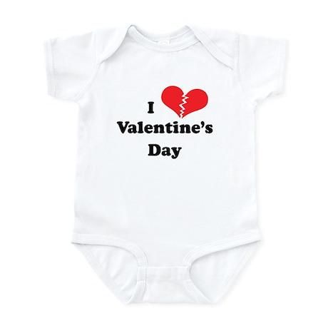 I Hate Valentine's Day Infant Bodysuit