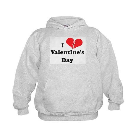 I Hate Valentine's Day Kids Hoodie