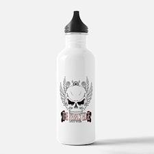 Rebel Skull Wings Water Bottle