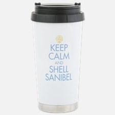 Keep Calm and Shell - Stainless Steel Travel Mug