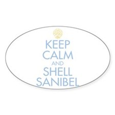 Keep Calm and Shell - Decal