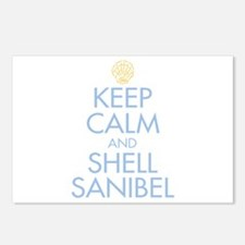 Keep Calm and Shell - Postcards (Package of 8)