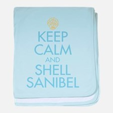 Keep Calm and Shell - baby blanket