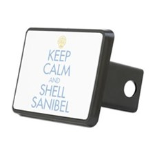 Keep Calm and Shell - Hitch Cover