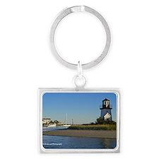 Cape Cod Lighthouse Landscape Keychain