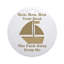 Row your Boat Ornament (Round)