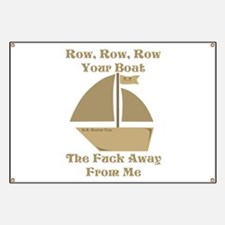 Row your Boat Banner