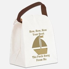 Row your Boat Canvas Lunch Bag