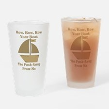 Row your Boat Drinking Glass