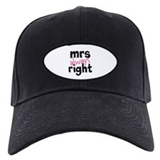 Mrs Always Right part of mr and mrs set Baseball C