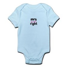 Mrs Always Right part of mr and mrs set Body Suit