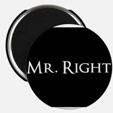 Mr Right part of his and hers set Magnets