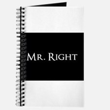 Mr Right part of his and hers set Journal