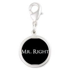 Mr Right part of his and hers set Charms