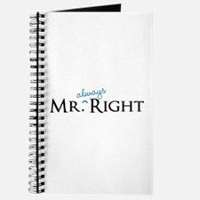 Mr always Right part of his and hers set Journal